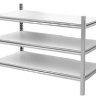 Three Tiers 304 S.S. Shelving